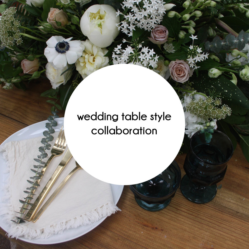 button wedding table styling mouseover