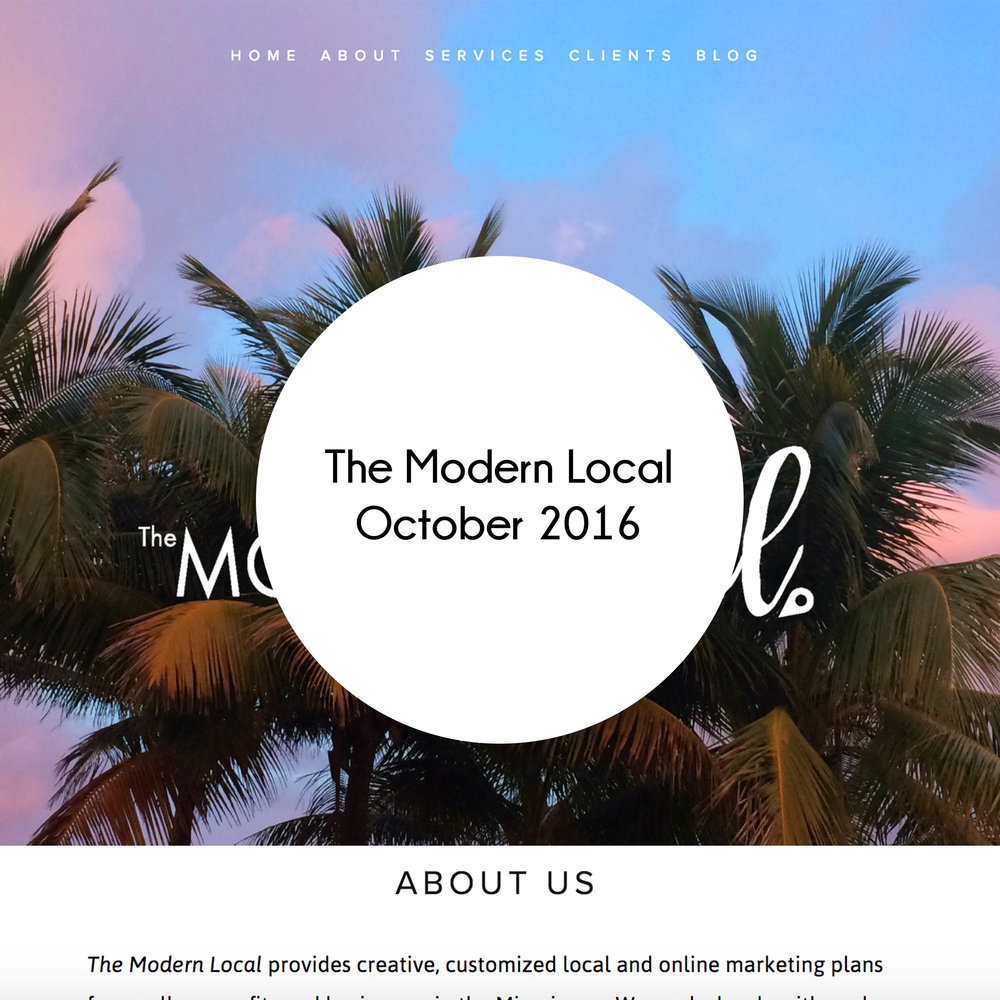 The Modern Local Solid