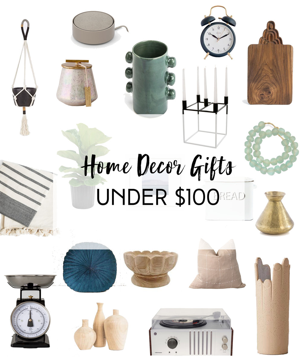 Holiday Gift Guide - Home Decor Under 100 - The Habitat Collective