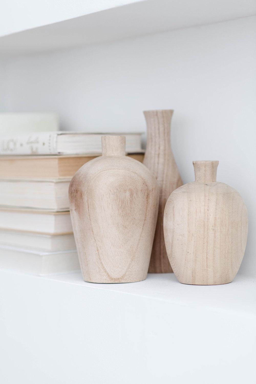 modern open shelf styling - the habitat collective interior design - #projectpeachy