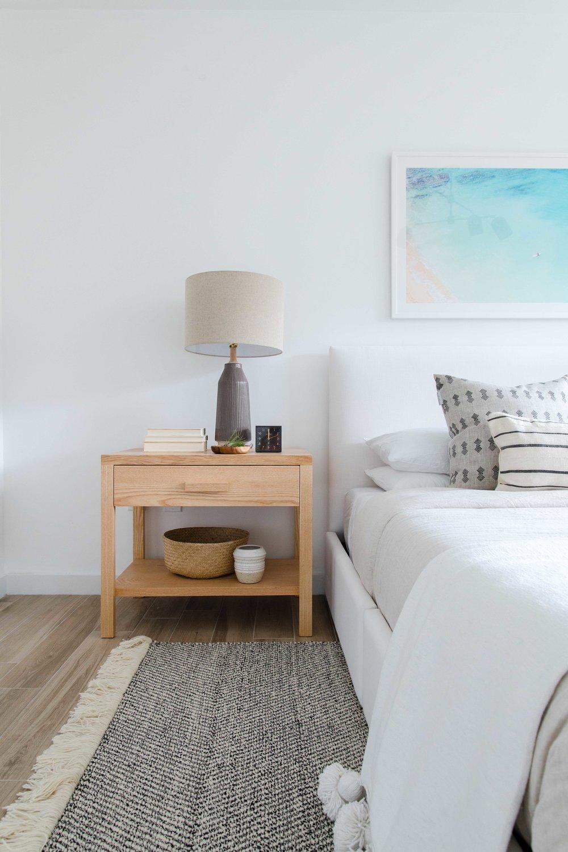 modern wooden nightstands - the habitat collective interior design - #projectpeachy