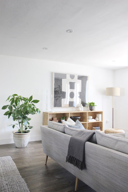mid century eclectic living room - #projectmidcenturymuse - the habitat collective interior design