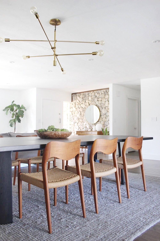 vintage mid century dining chairs  - #projectmidcenturymuse - the habitat collective interior design