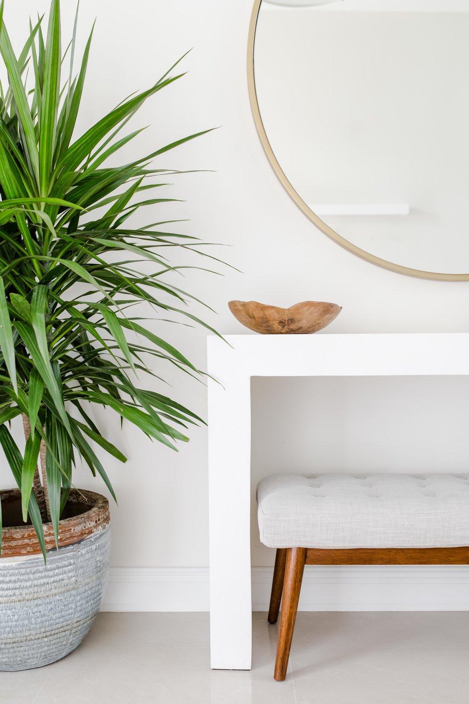 pembroke pines entryway - the habitat collective - interior design