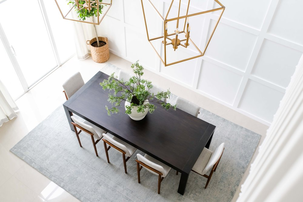 pembroke pines dining room - the habitat collective - interior design