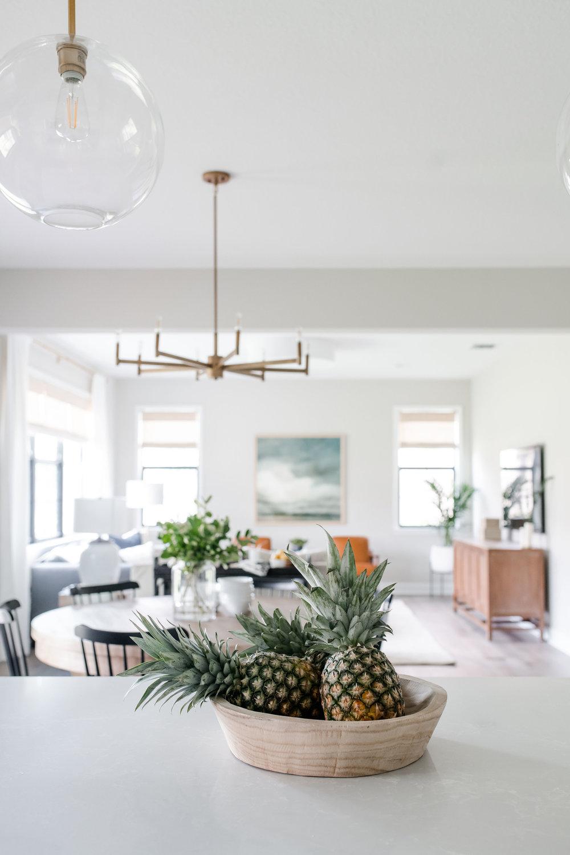 parkland project kitchen - the habitat collective - interior design