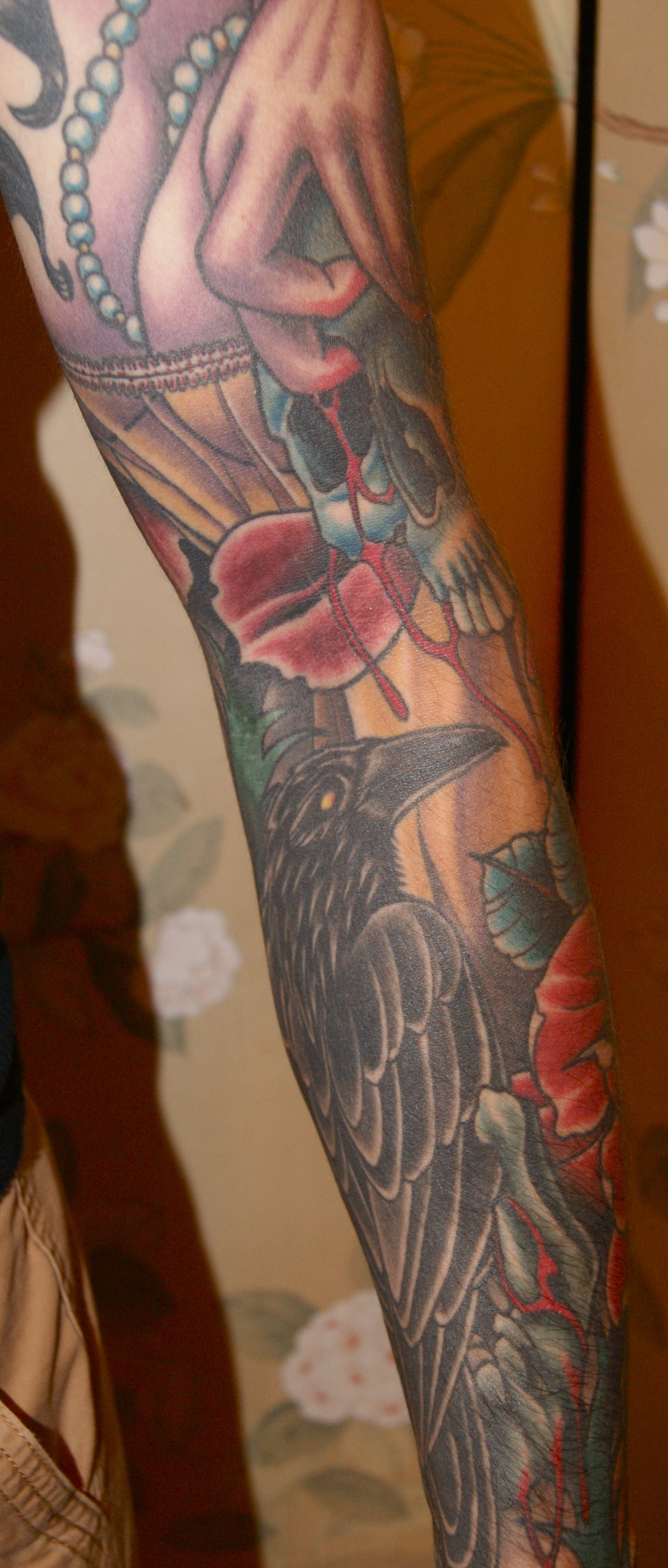 rochester-tattoo-sleeve-anthony-filo-appletattoo-dead-girl-zombie-skull-raven-roses-6.jpg