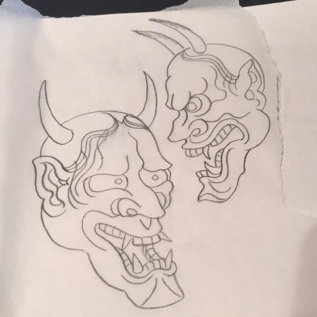 Forgot about a reschedule 😅 got time for a hannya! Or whatever...