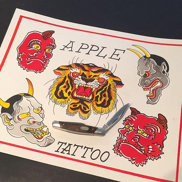 Tattoos available @appletattoo