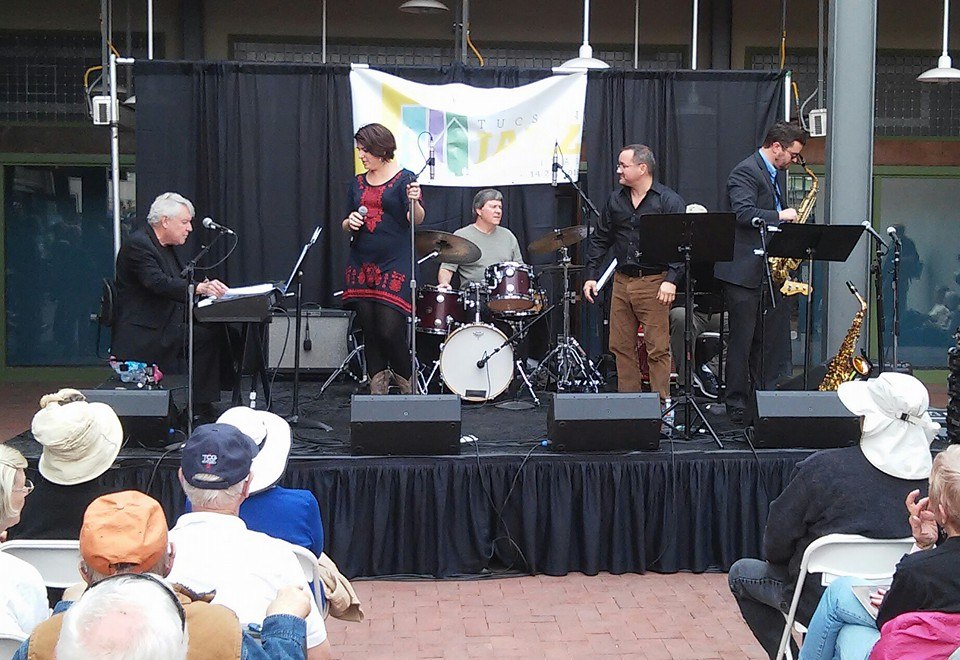 Performing at the 2016 Tucson Jazz Festival