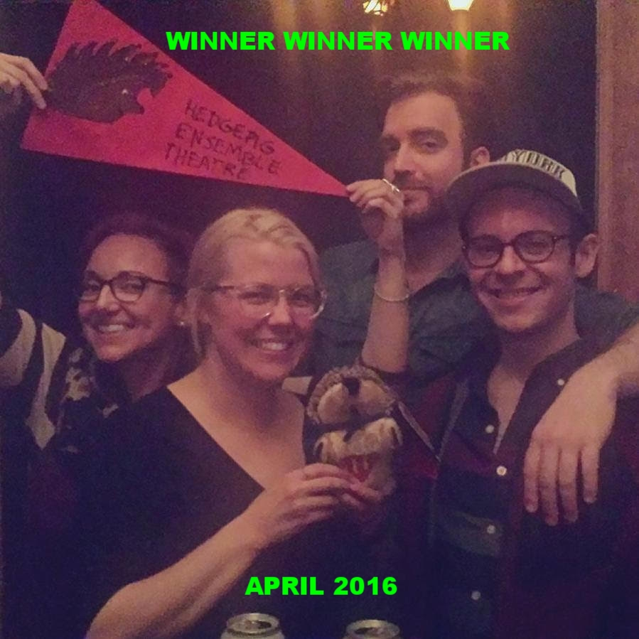 WINNERS! APRIL 2016