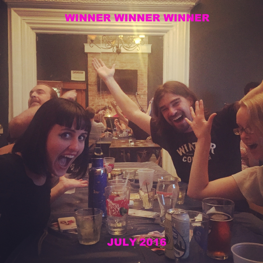 WINNERS! JULY 2016