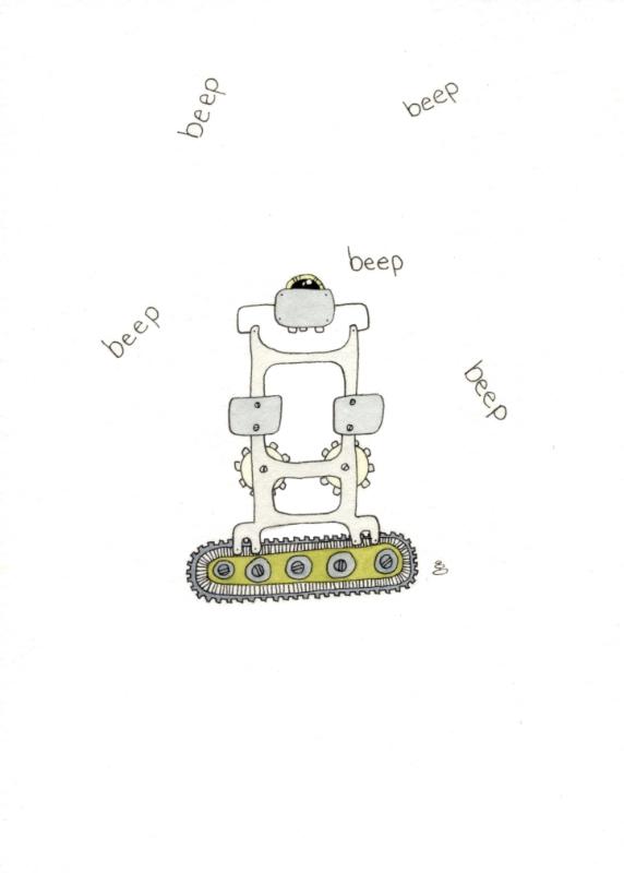 noisy robot