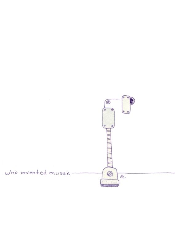 who invented musak