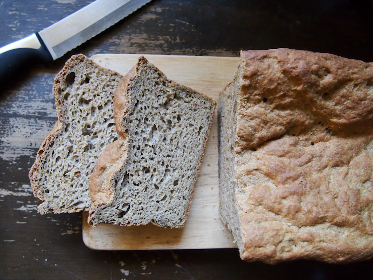Gluten-Free Vegan Bread | vermilionroots.com. Finally, homemade gluten-free bread that's soft, moist and absolutely slice-worthy! Great for making sandwiches.