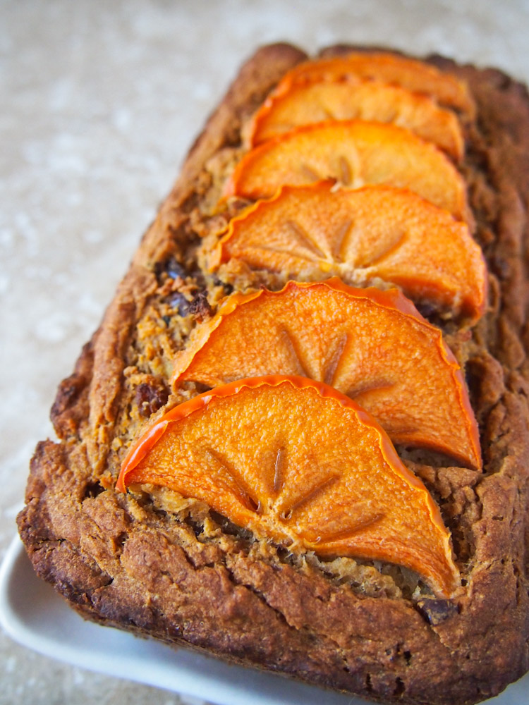 Fresh Fruit Whole Wheat Loaf Cake (Refined Sugar Free) | vermilionroots.com