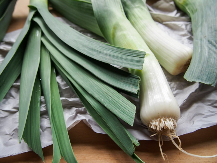 Spring Discovery: How to Cook the Season's Best on VermilionRoots.com. Featured vegetable of the week: leeks.