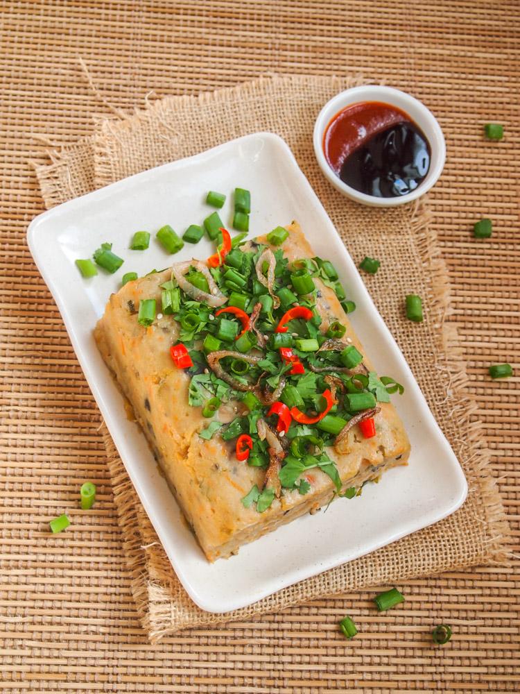 Chinese Turnip Cake | vermilionroots.com.