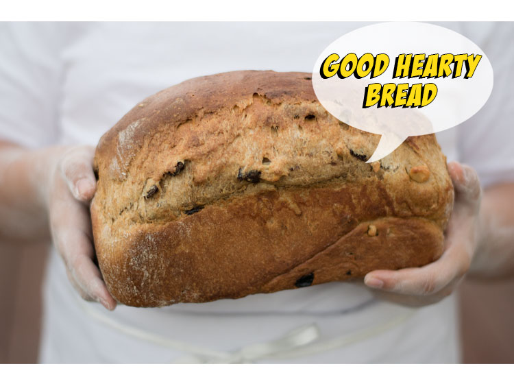 Good Hearty Bread from The Hunger Games