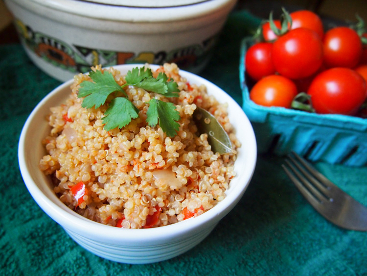 Malaysian Tomato Quinoa  by Vermilion Roots