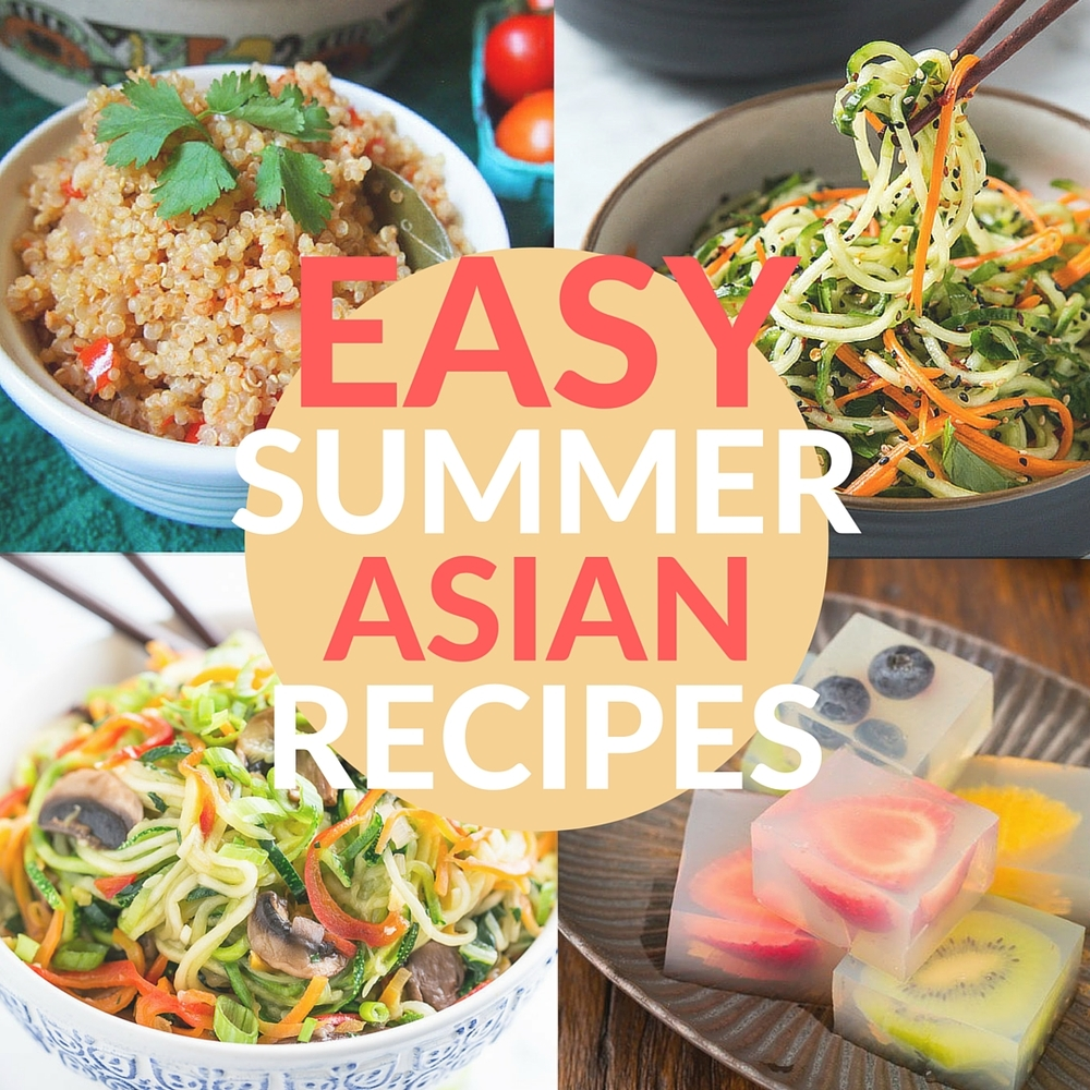 25 Easy Summer Asian Recipes!
