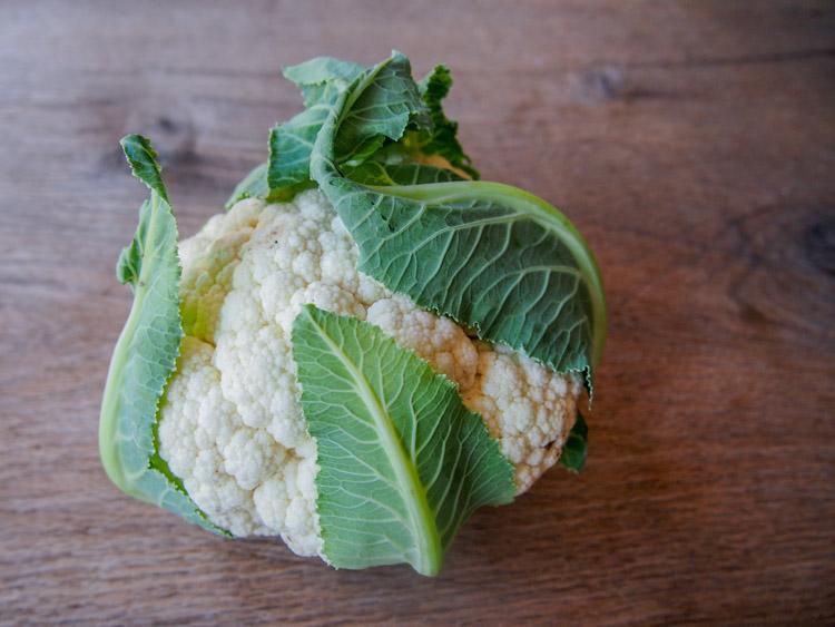 How to make cauliflower rice | vermilionroots.com.