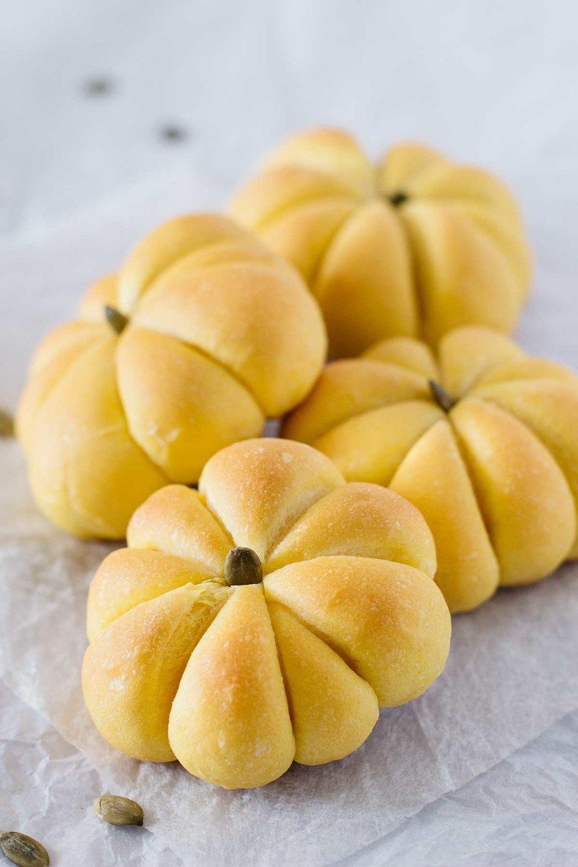 Japanese Kabocha Bread