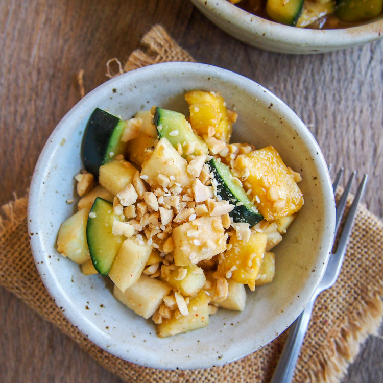 Easy malaysian fruit salad rojak buah taste of home vermilion malaysian fruit salad rojak buah a mixture of fruits in a sweet spicy and tangy dark sauce this recipe serves 2 to 4 forumfinder Image collections