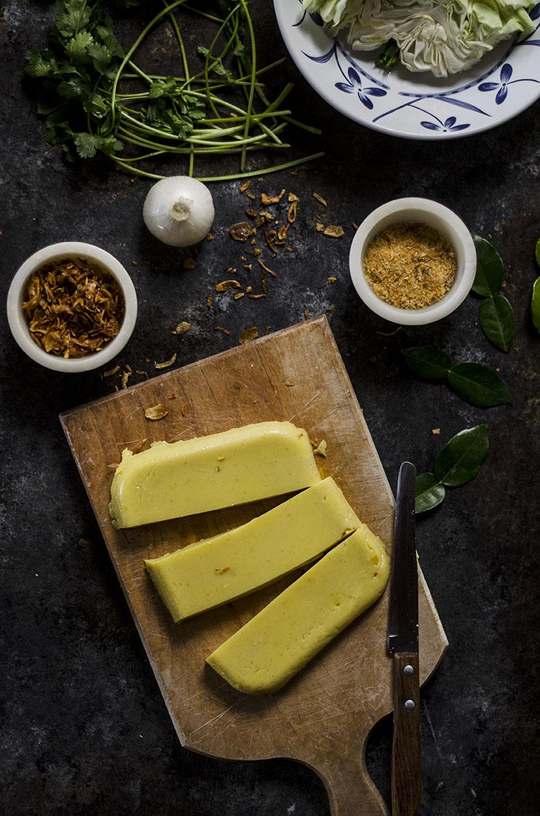 Chickpea Tofu Salad
