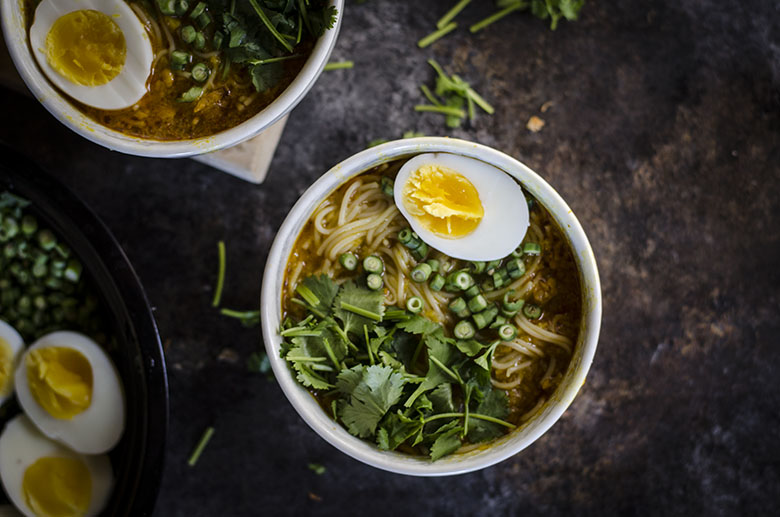 Fish Vermicelli Soup (mohinga)