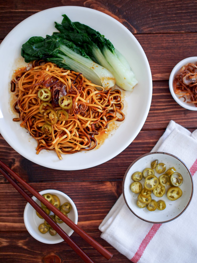 Build your own malaysian soy sauce noodles kon loh mee vermilion this post is sponsored by san miguel produce weve teamed up with jade asian greens who provided the vegetables to present a flavorful noodle dish that forumfinder Images