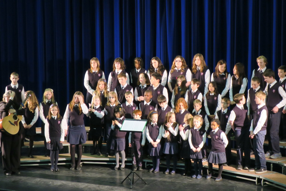DMCS Choir NB Festival of Music Winners