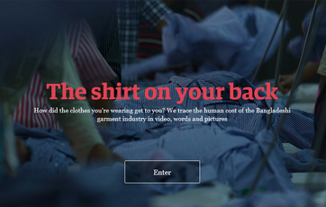Resultat d'imatges de The shirt on your back The Guardian