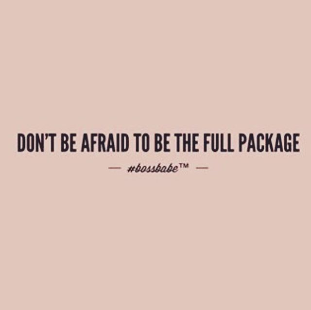 Never scared 😏 Happy Friday Boss Babes....from @blainelorenn to you! #BlaineLorenn #BossBabe #Boss #Friday #WeekendVibes