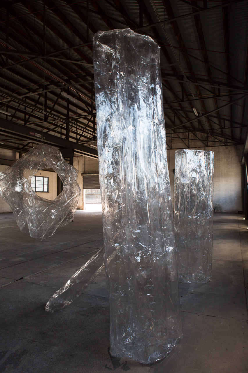 Mikala Dwyer - The Hollows, 2014 in the 19th Biennale of Sydney, curated by Juliana Engberg, Cockatoo Island, Sydney