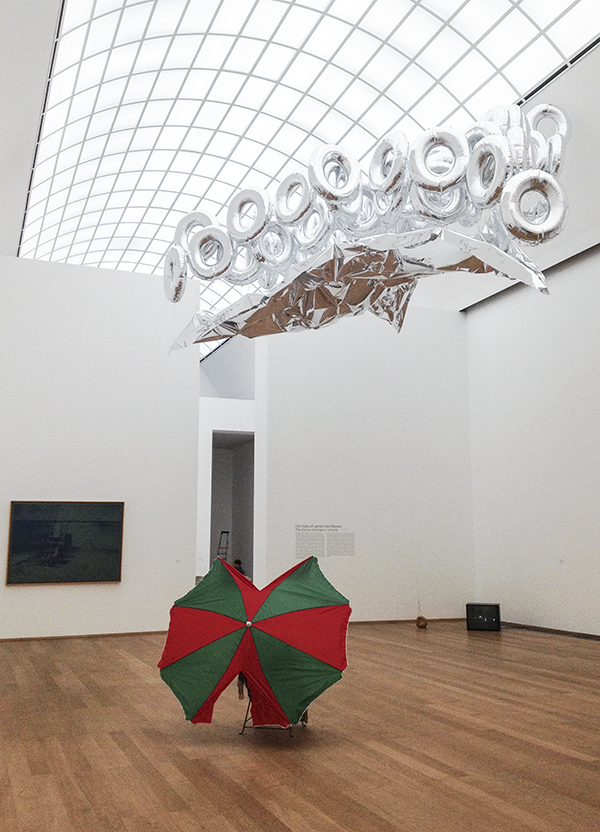 Mikala Dwyer in The End of the 20th Century. The Best is Yet to Come. A Dialogue with the Marx Collection, 2013, Hamburger Bahnhof, Berlin