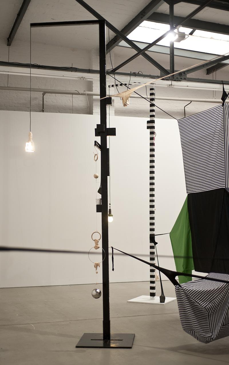 Mikala Dwyer - Square Cloud Compound, 2010, Hamish Morrison Galerie, Berlin