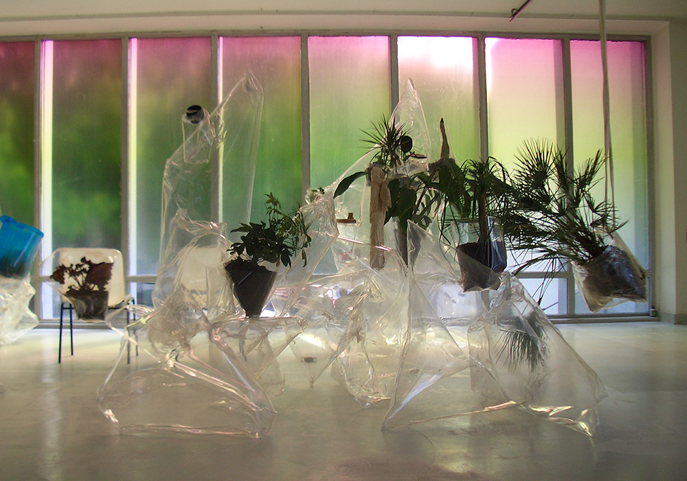Mikala Dwyer in High Tide, 2006, CAC Vilnius, Lithuania