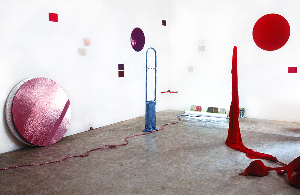 Mikala Dwyer - Woops, 1994, Sarah Cottier Gallery, Sydney