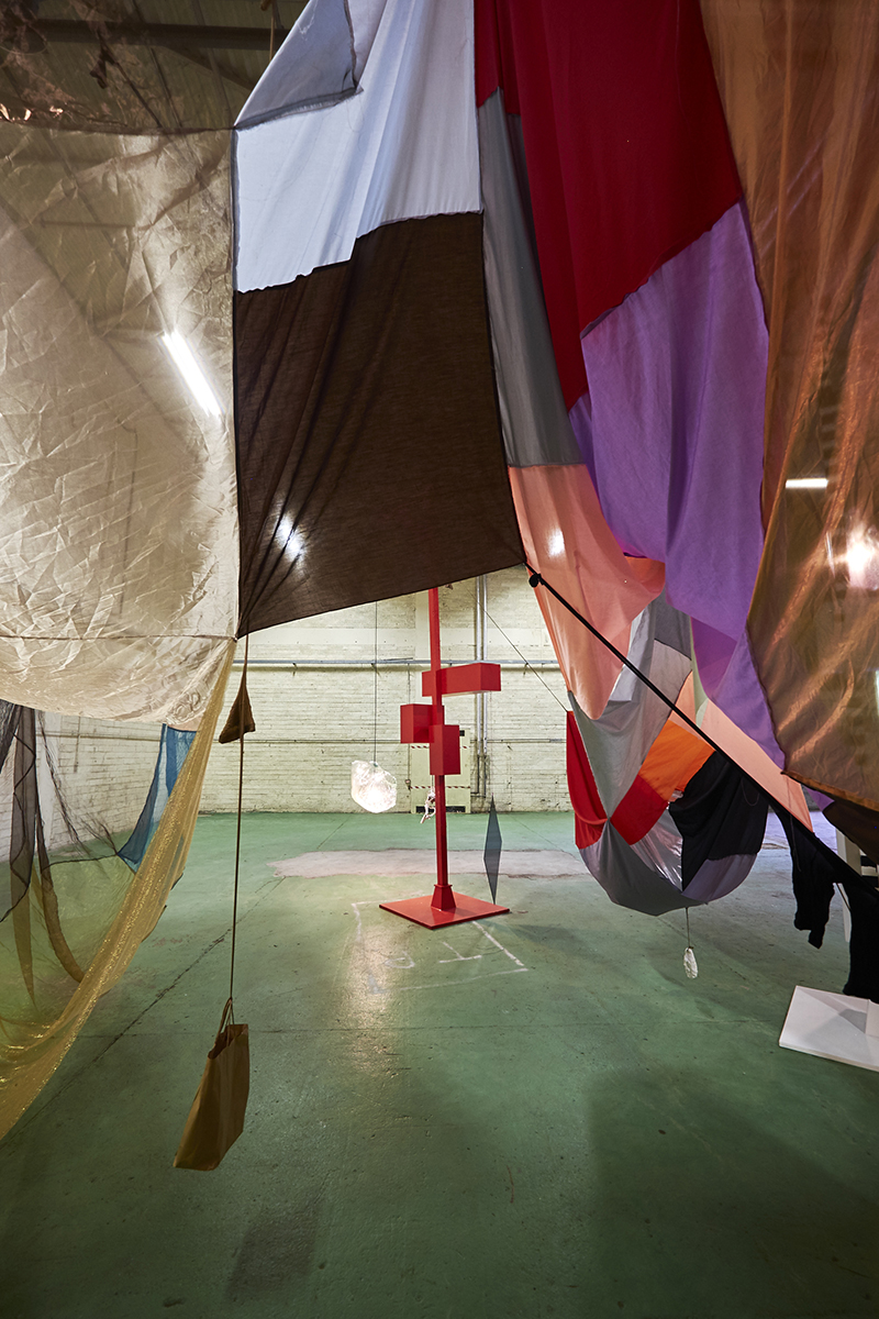 Mikala Dwyer, Square Cloud Compound | Magnetism, 2015, Hazelwood, Sligo, Ireland