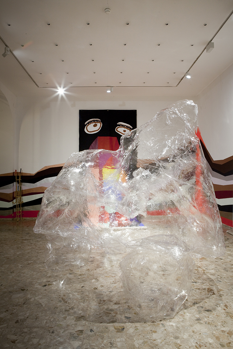Mikala Dwyer in Hall of Half-Life, 2015, GrazMuseum, Austria
