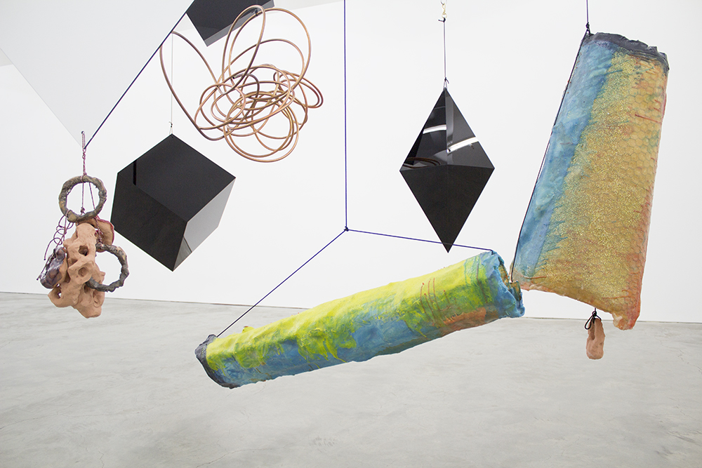 Mikala Dwyer, The weight of shape, 2014 | Hollowwork, 2014, Anna Schwartz Gallery, Melbourne