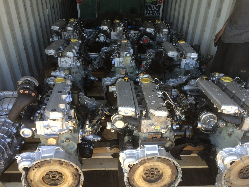 Reconditioned Turbo Engines Rover Resource