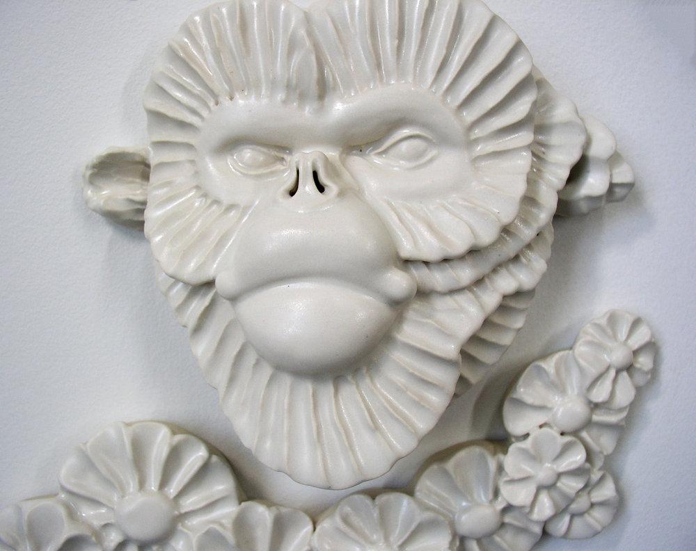 Monkey Flower Tree, detail