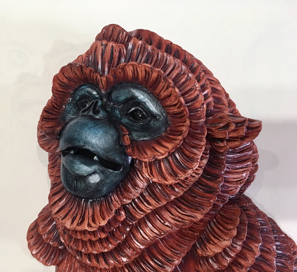 Ecstatic Chrysanthemonkey, detail