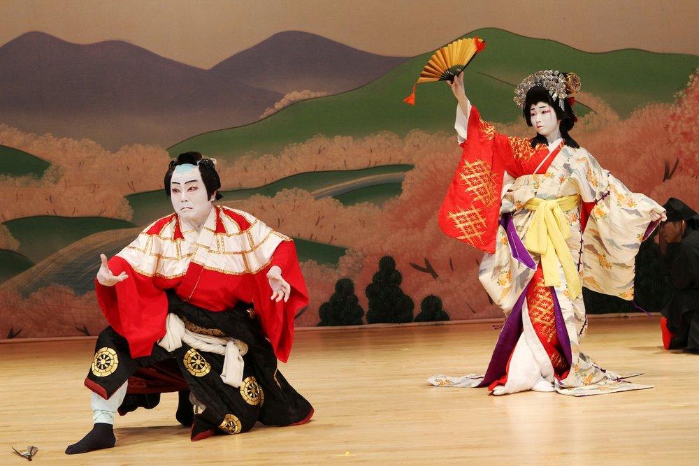 Kabuki performers