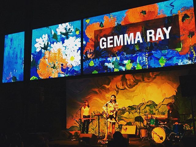 @gemma_ray and band being absolutely brilliant at @ngvmelbourne
