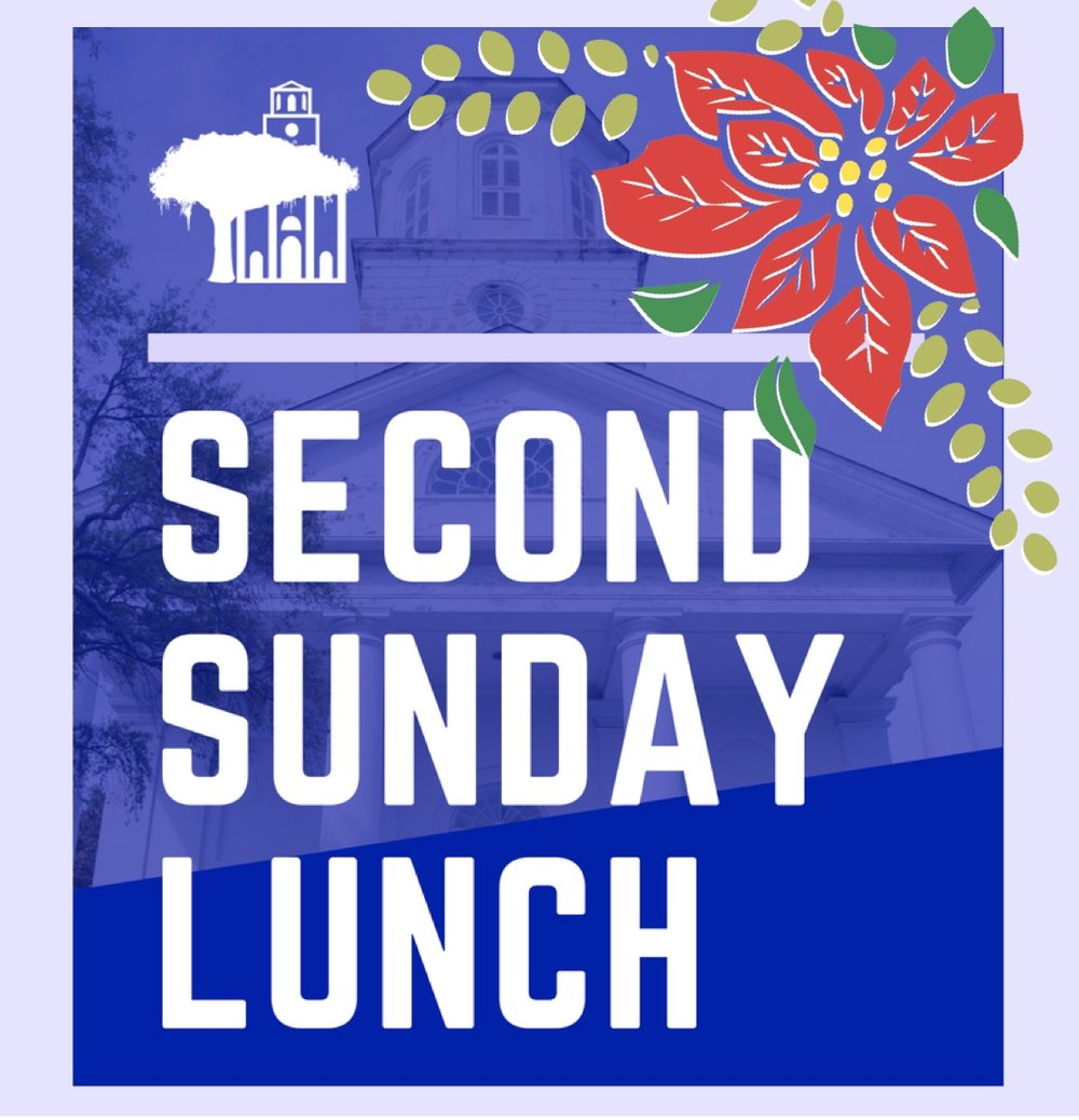 Join us after the 11:15 service Sunday, December 9th for a time of food, fun and intergenerational fellowship.   Please bring your favorite hors d'oeuvre or holiday party treat for a Christmas reception on Sunday, December 9th.  Instead of a full lunch, this month will feature cookies, holiday sweets, tea sandwiches, dips and a Christmas punch.   If you forget to bring something, join us anyway! All are welcome. We hope to see you there!