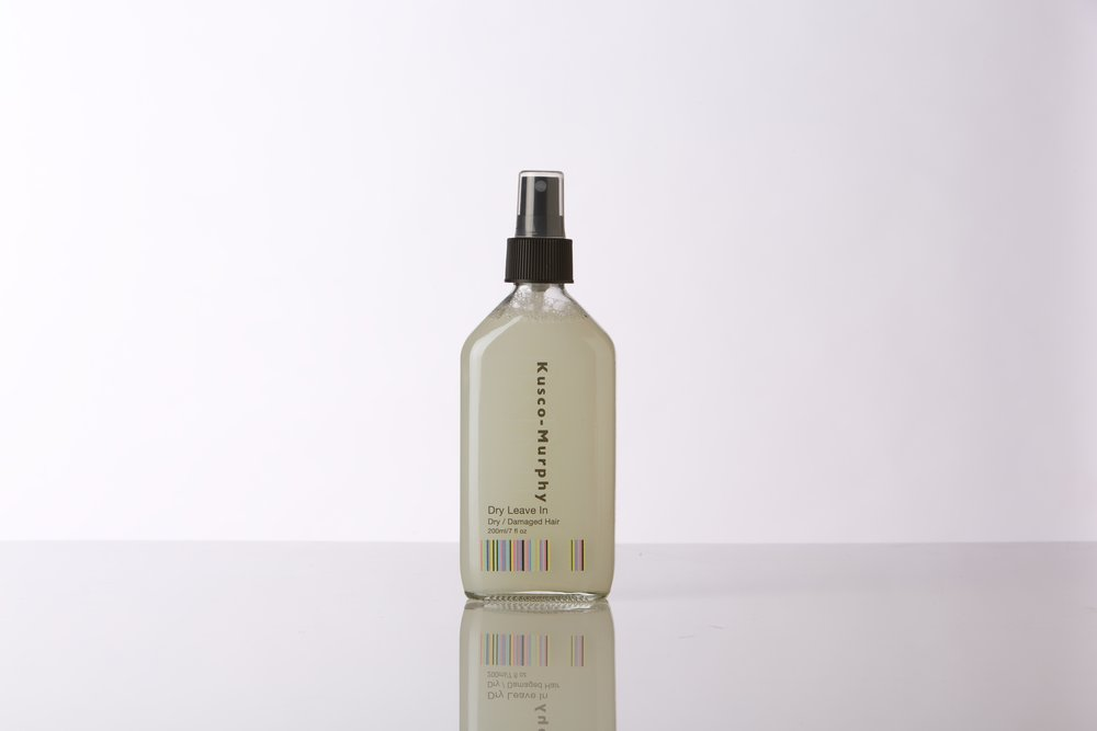 Best-selling leave-in treatment spray repairs dehydrated or chemically exhausted hair.