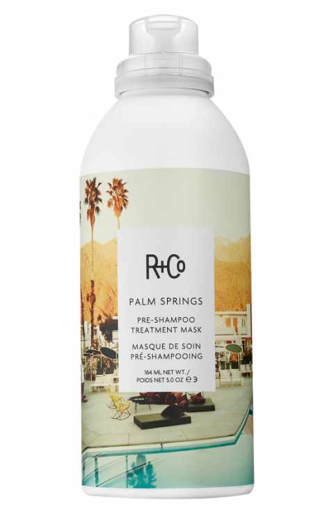 "PALM SPRINGS Pre-Shampoo Treatment Mask: ""I love it. It's the only intense deep conditioner that you can put in dry hair!"""